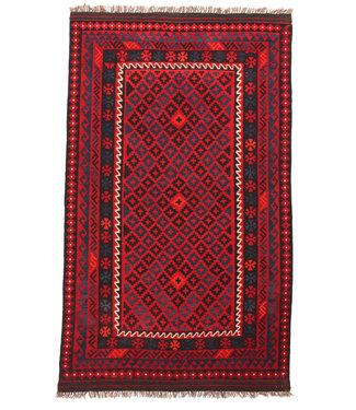 exclusive  Vloerkleed Tapijt Kelim 223x135 cm Kleed Hand Geweven Kilim