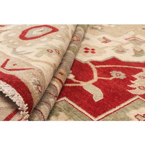 Handgeknüpft  ziegler teppich  Farahan 363x271 cm Abstrakt Wolle Teppich
