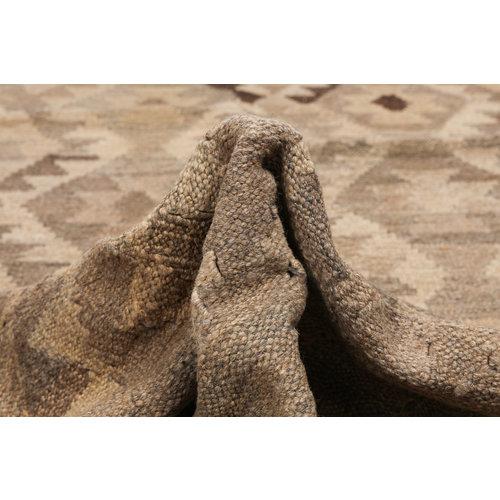Grau natürlich kelim teppich 299x210cm afghan kilim teppich