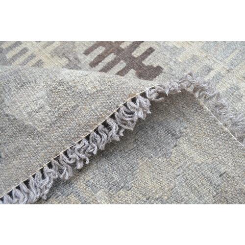 Grau natürlich kelim teppich 300x208 cm afghan kilim teppich