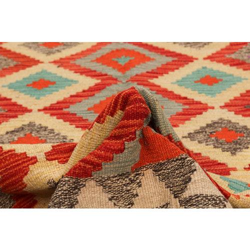 exclusive Kelim Teppich 195x145 cm afghan kilim teppich