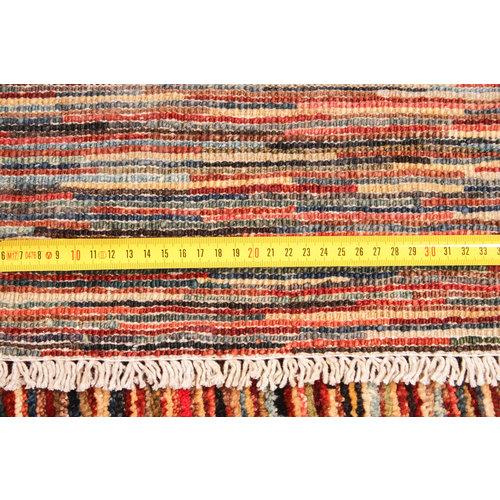 Handgeknüpft Modern Art 241x196 cm Abstrakt Wolle Teppich