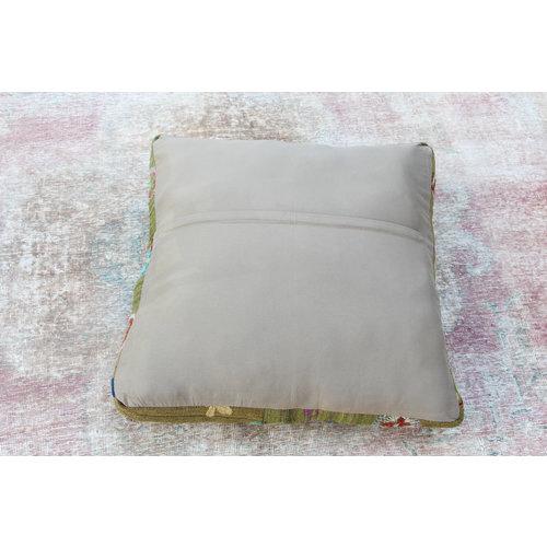 70x70 x 15 cm poef vinatge kissens pouf