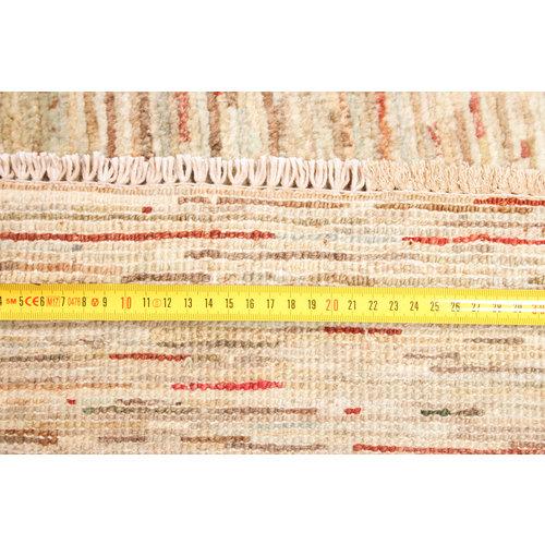 Handgeknüpft Modern Art 251x203 cm Abstrakt Wolle Teppich