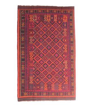 15'75x10'17 Sheep Wool Handwoven Multicolor Traditional Afghan kilim Area Rug
