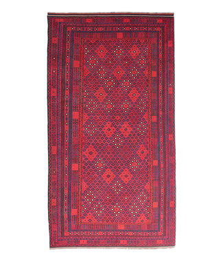 17'01x8'60 Sheep Wool Handwoven Multicolor Traditional Afghan kilim Area Rug