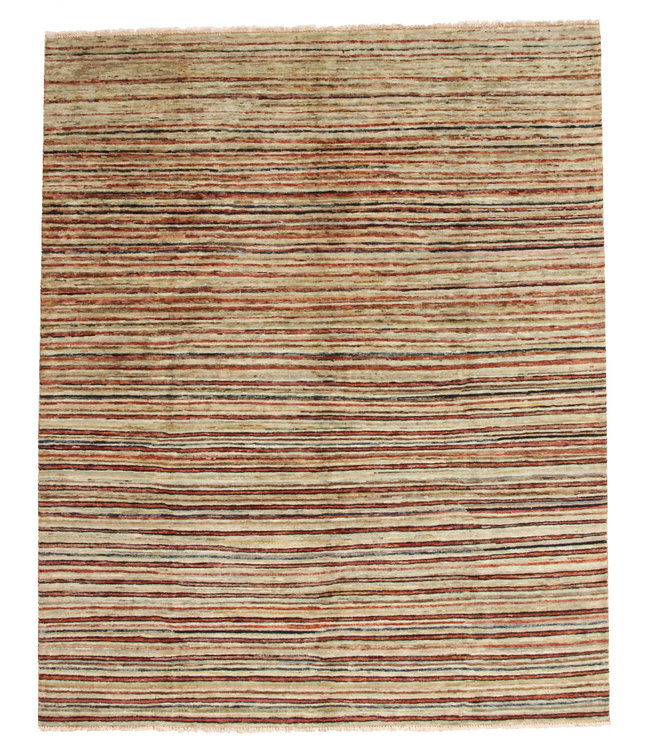 Handgeknoopt Modern Art tapijt 247x202 cm  oosters kleed vloerkleed