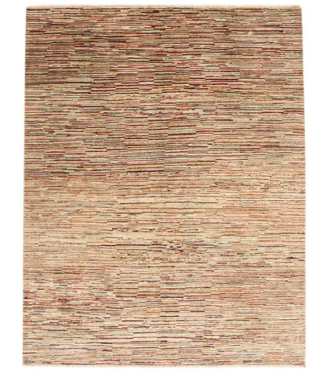 Handgeknoopt Modern Stribe tapijt 250x197 cm  oosters kleed vloerkleed