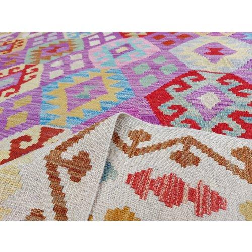 exclusive Kelim Teppich 290x200 cm afghan kilim teppich