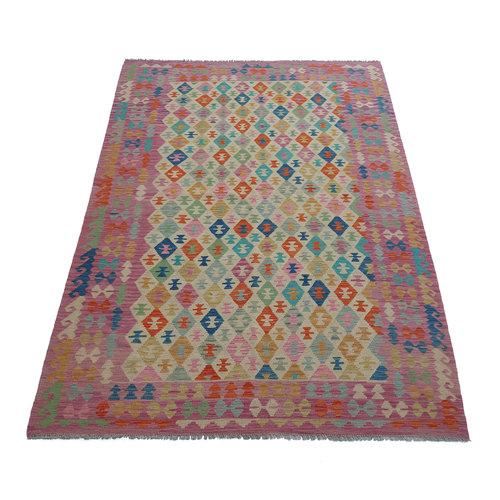 exclusive Kelim Teppich 301x202 cm afghan kilim teppich