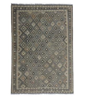 9'65x6'92 Sheep Wool Handwoven Multicolor Traditional Afghan kilim Area Rug