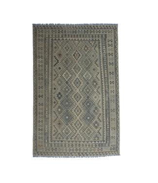 10'01x6'60 Sheep Wool Handwoven Multicolor Traditional Afghan kilim Area Rug