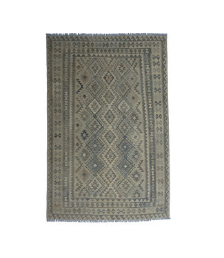 10'01x6'60 Sheep Wool Handwoven Natural Traditional Afghan kilim Area Rug