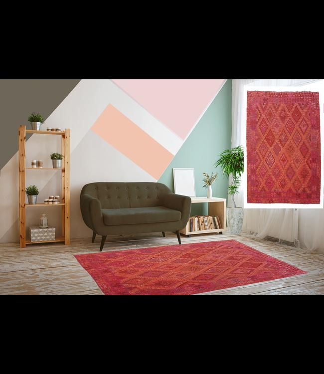 kelim kleed 236x177 cm vloerkleed tapijt kelims hand geweven