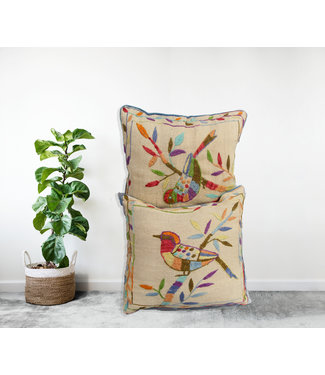 vintage 2x kilim cushion cover ca 50x45 cm with filling