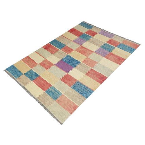 exclusive Kelim Teppich 296x197 cm afghan kilim teppich
