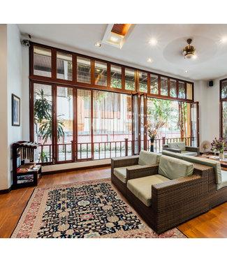 oriental Multi Color Handmade soumak carpet 11'90X8'72 Sumak Kilim Area Rug 363X266 cm