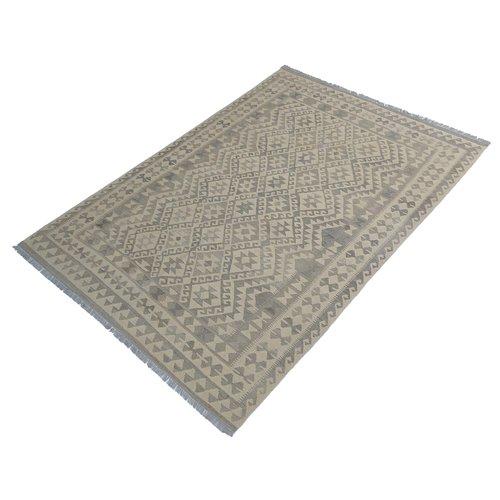 exclusive Kelim Teppich -296x197 cm afghan kilim teppich