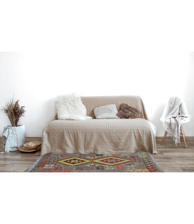 kelim kleed  125 x 77 cm vloerkleed tapijt kelims hand geweven