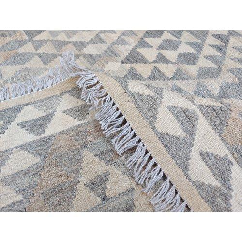 exclusive  Vloerkleed Tapijt Kelim 244x180 cm Kleed Hand Geweven Kilim