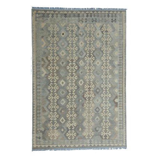exclusive Kelim Teppich 294x200 cm Natural afghan kilim teppich