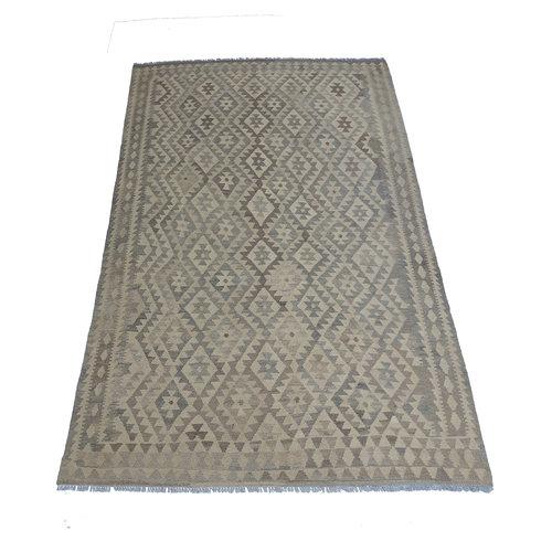 exclusive  Vloerkleed Tapijt Kelim 290x198 cm Natural Kleed Hand Geweven Kilim