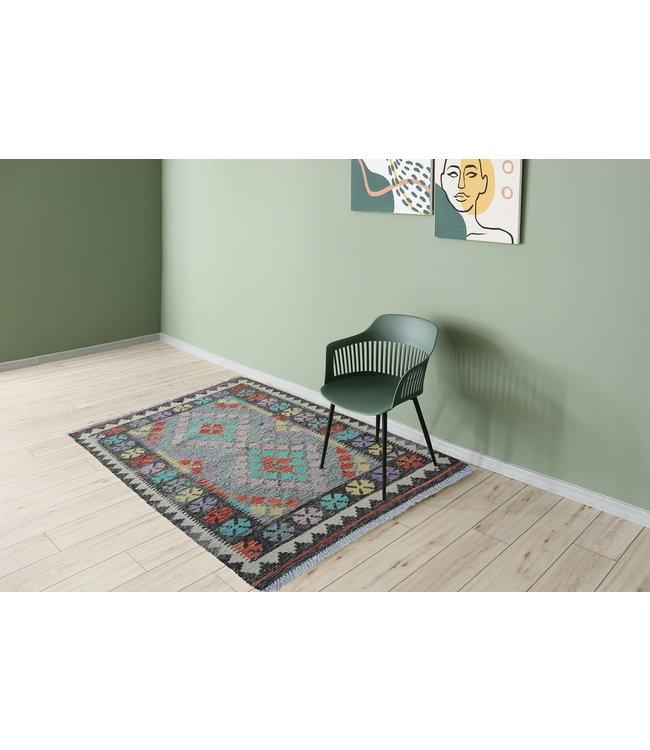 kelim kleed  144x102 cm vloerkleed tapijt kelims hand geweven