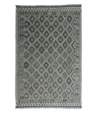 exclusive  Vloerkleed Tapijt Kelim 298x200 cm Natural Kleed Hand Geweven Kilim