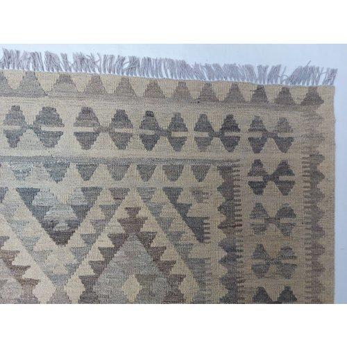 exclusive Kelim Teppich 297x201 cm Natural afghan kilim teppich