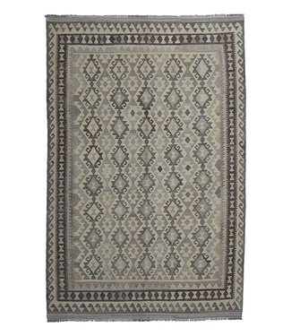 exclusive  Vloerkleed Tapijt Kelim 288x200 cm Natural Kleed Hand Geweven Kilim