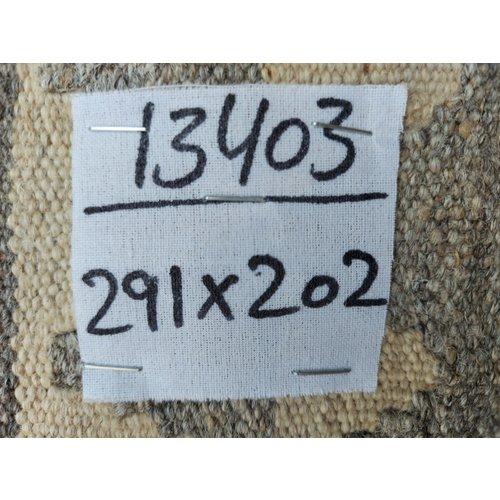 exclusive Kelim Teppich 291x202 cm Natural afghan kilim teppich
