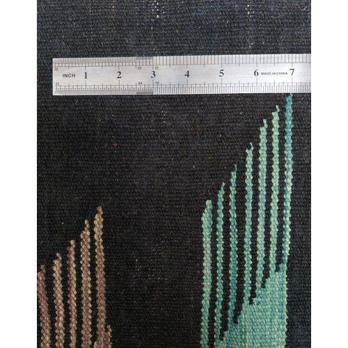 exclusive modern  mehrfarbig  Kelim Teppich 305x197 cm afghan kilim teppich