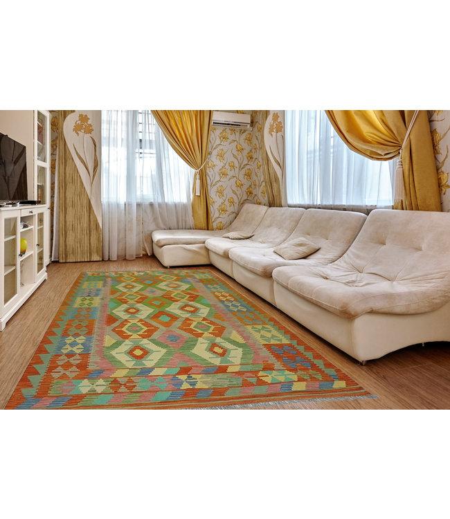 kelim kleed 306x197 cm vloerkleed tapijt kelims hand geweven