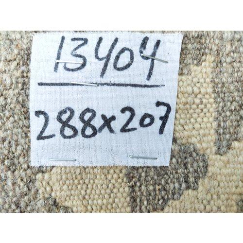 exclusive Kelim Teppich 288x207 cm Natural afghan kilim teppich
