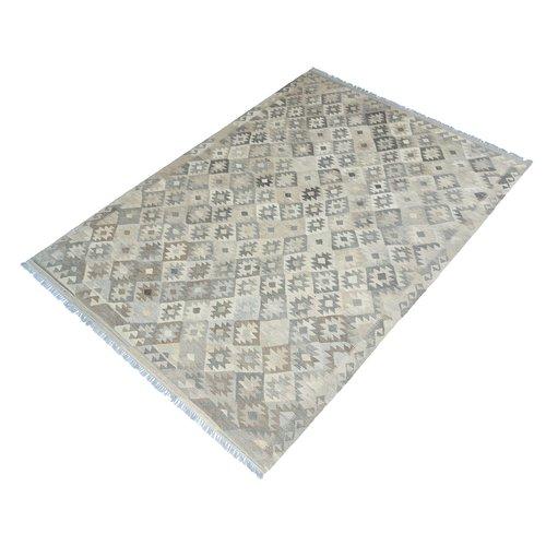exclusive Kelim Teppich 290x208 cm Natural afghan kilim teppich