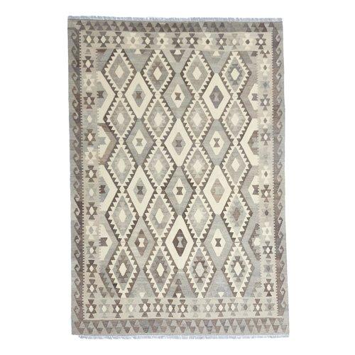 exclusive Kelim Teppich 295x206 cm Natural afghan kilim teppich