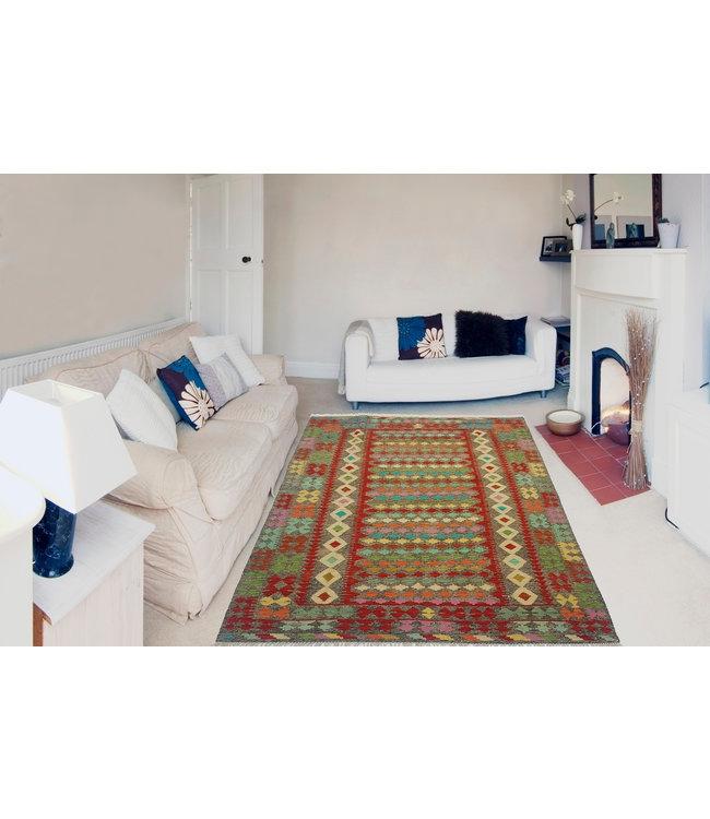 kelim kleed  236x169cm  vloerkleed tapijt kelims hand geweven