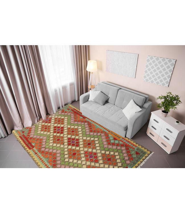 kelim 239 x 171 cm vloerkleed tapijt kelims hand geweven