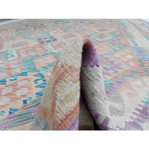 exclusive Kelim Teppich 344x262 cm Multicolor afghan kilim teppich