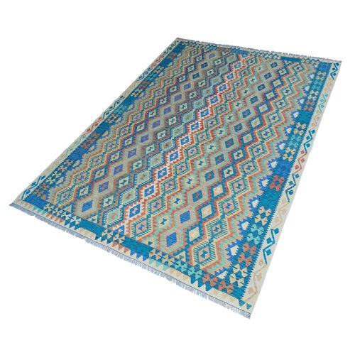 exclusive Kelim Teppich 364x264 cm Multicolor afghan kilim teppich