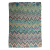 exclusive Kelim Teppich 335x249 cm Multicolor afghan kilim teppich