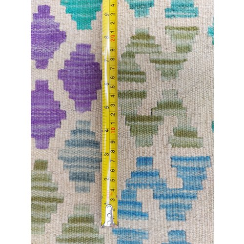exclusive Kelim Teppich 367x260 cm Multicolor afghan kilim teppich
