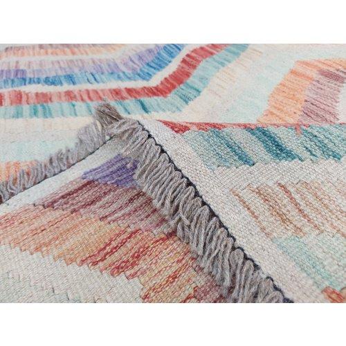exclusive Kelim Teppich 353x269 cm Multicolor afghan kilim teppich