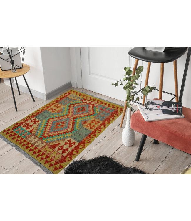 kelim kleed 119 x 87 cm vloerkleed tapijt kelims hand geweven