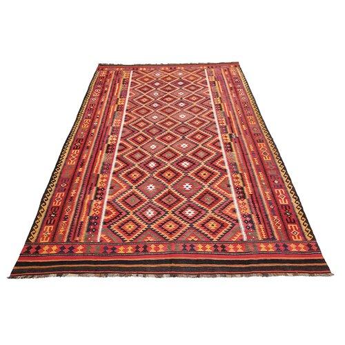 exclusive Kelim Teppich 475x278 cm Multicolor afghan kilim teppich