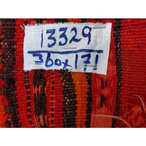 exclusive Kelim Teppich 360x171 cm Multicolor afghan kilim teppich