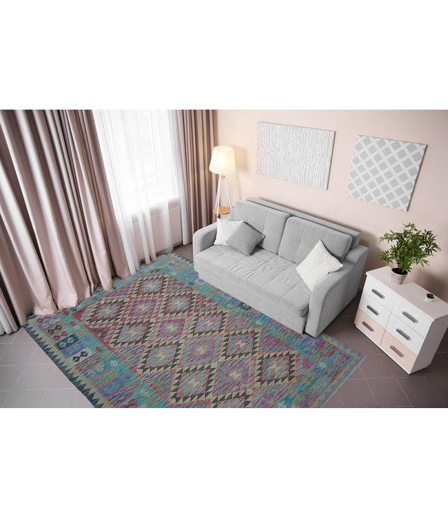 kelim kleed 234x163 cm vloerkleed tapijt kelims hand geweven