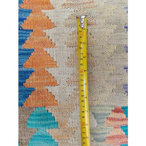exclusive Kelim Teppich 302x247 cm Multicolor afghan kilim teppich
