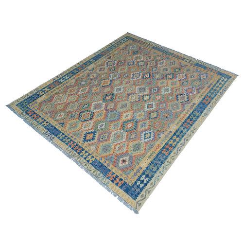 exclusive Kelim Teppich 309x243 cm Multicolor afghan kilim teppich