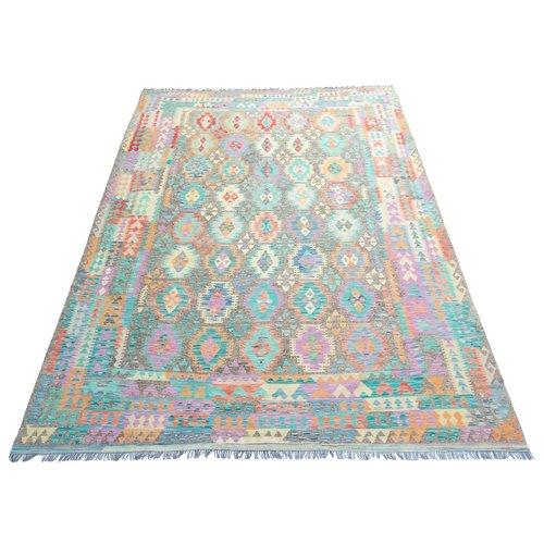 exclusive Kelim Teppich 374x268 cm Multicolor afghan kilim teppich
